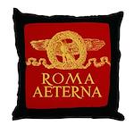 Roma Aeterna Throw Pillow - Cuscino da salotto