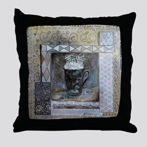 Cafe Latte Tall Throw Pillow