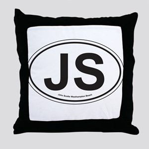 John Scotts Throw Pillow