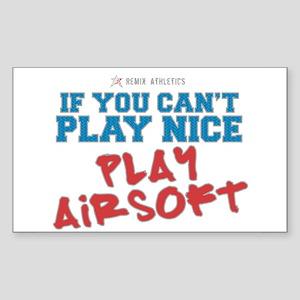 Remix Athletics Airsoft Rectangle Sticker