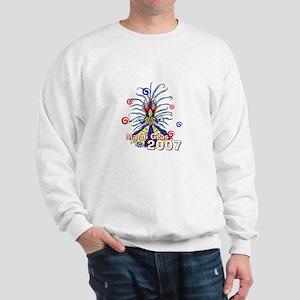 Celebrate Mardi Gras Sweatshirt