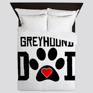 Italian Greyhound Dad Queen Duvet