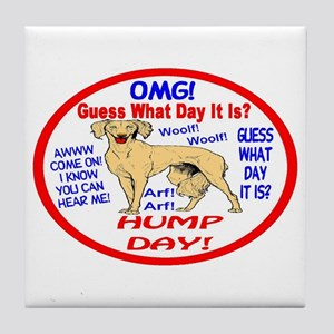 OMG! It's Hump Day! Tile Coaster