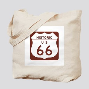 Route 66 Historic US Tote Bag