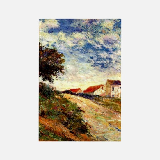 Gauguin: The Road Up, Paul Gaugui Rectangle Magnet