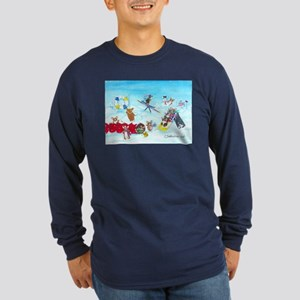 Waiting For The Thaw Long Sleeve Dark T-Shirt