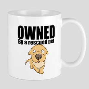 OWNED by a rescued pet Mugs