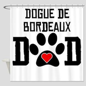 Dogue de Bordeaux Dad Shower Curtain