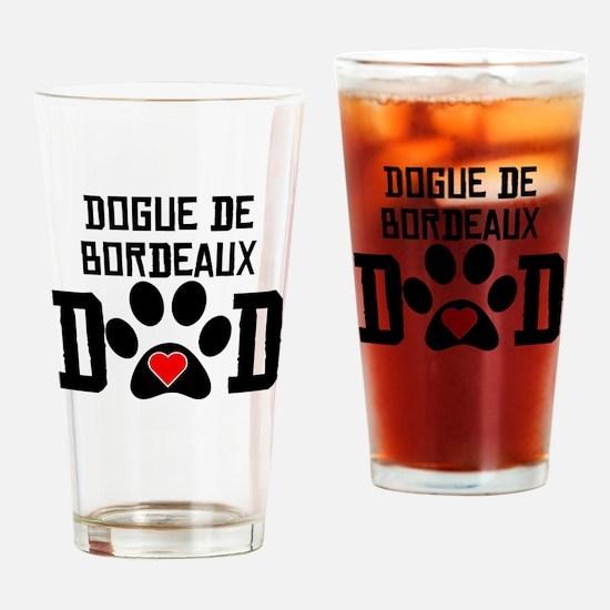 Dogue de Bordeaux Dad Drinking Glass