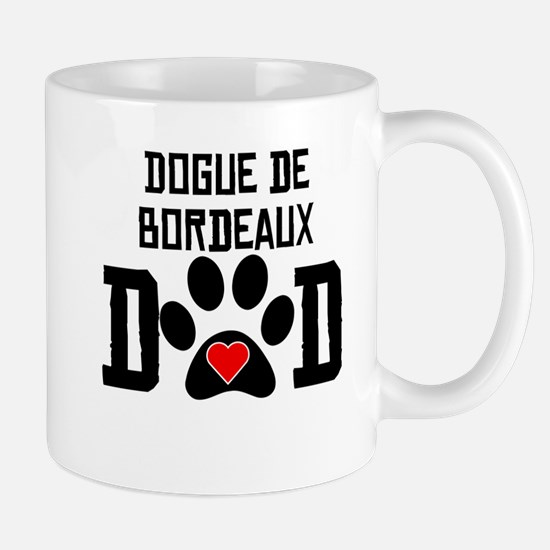 Dogue de Bordeaux Dad Mugs