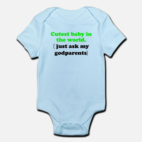 Just Ask My Godparents Body Suit