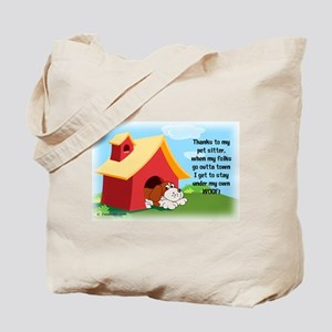Under My Own Woof! Tote Bag