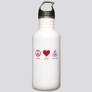 Peace, Love, BJJ 01 Stainless Water Bottle 1.0L