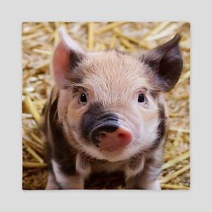 sweet piglet Queen Duvet