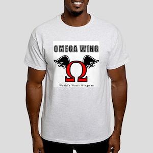 Omega Wing Ash Grey T-Shirt