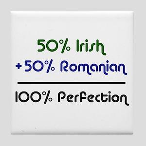 Irish & Romanian Tile Coaster