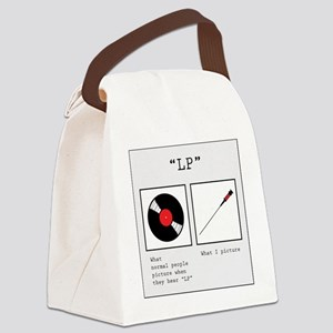 LP (Lumbar Punture) Canvas Lunch Bag