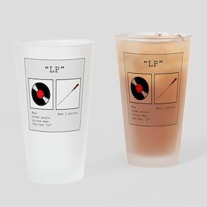 LP (Lumbar Punture) Drinking Glass