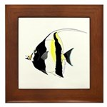 Moorish Idol Framed Tile