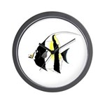 Moorish Idol Wall Clock