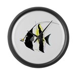 Moorish Idol Large Wall Clock