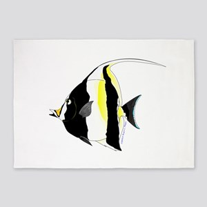 Moorish Idol 5'x7'Area Rug