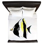 Moorish Idol King Duvet