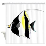 Moorish Idol Shower Curtain