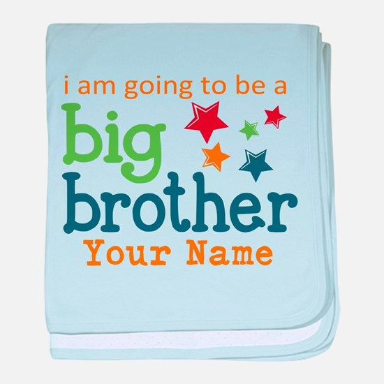 I am going to be a Big Brother Personalized baby b