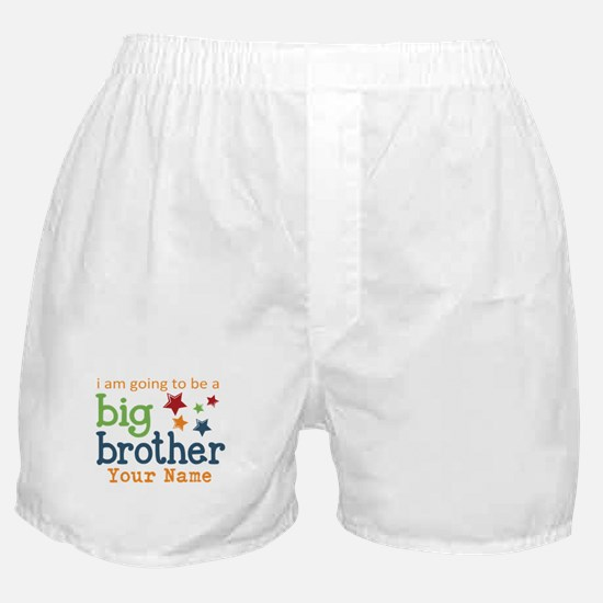 I am going to be a Big Brother Personalized Boxer