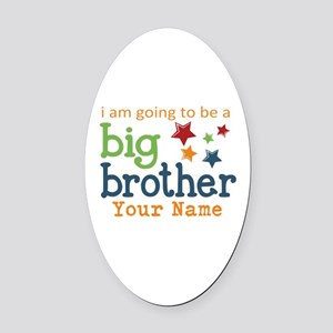 I am going to be a Big Brother Personalized Oval C