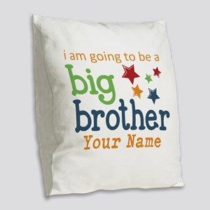 I am going to be a Big Brother Personalized Burlap