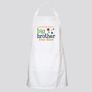 I am going to be a Big Brother Personalized Apron