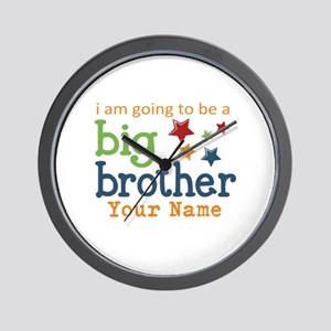 I am going to be a Big Brother Personalized Wall C