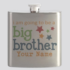 I am going to be a Big Brother Personalized Flask