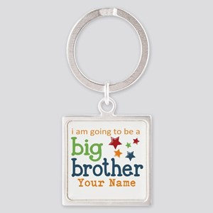 I am going to be a Big Brother Personalized Square