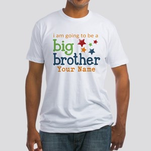 I am going to be a Big Brother Personalized Fitted