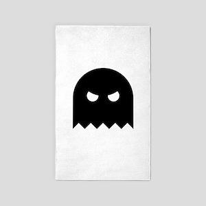 Halloween Ghost Ideology 3'x5' Area Rug
