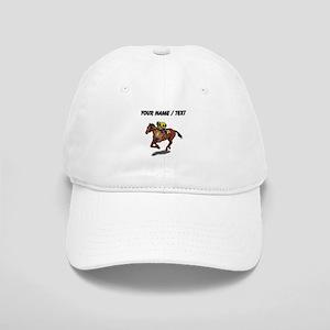 Custom Race Horse Baseball Cap