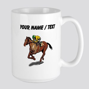 Custom Race Horse Mugs
