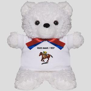 Custom Race Horse Teddy Bear