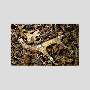 camouflage deer antler 3'x5' Area Rug