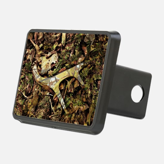 camouflage deer antler Hitch Cover