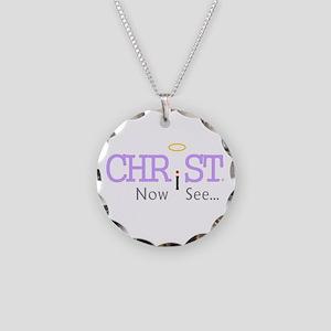 Christ Jesus Messiah Son of God New York Rome Neck