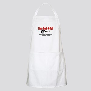 I LOVE ROCK-N-ROLL Apron