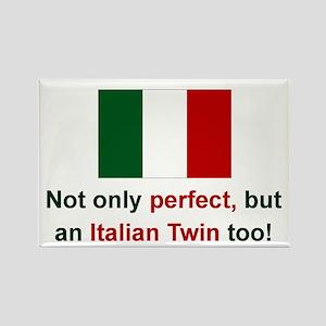 Italian Twin-Perfect Rectangle Magnet