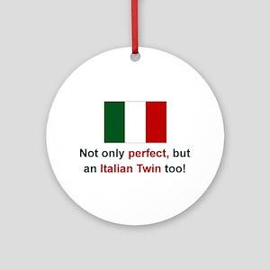 Italian Twin-Perfect Keepsake Ornament