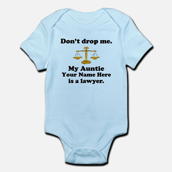 My Auntie Is A Lawyer (Custom) Body Suit