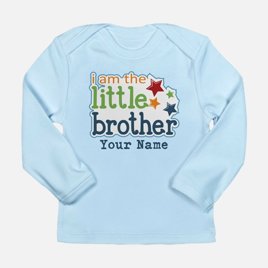 Little Brother - Personalized Long Sleeve Infant T