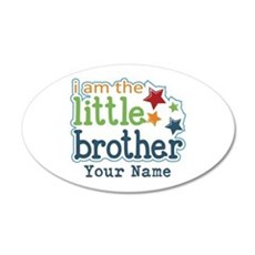 Little Brother - Personalized Decal Wall Sticker